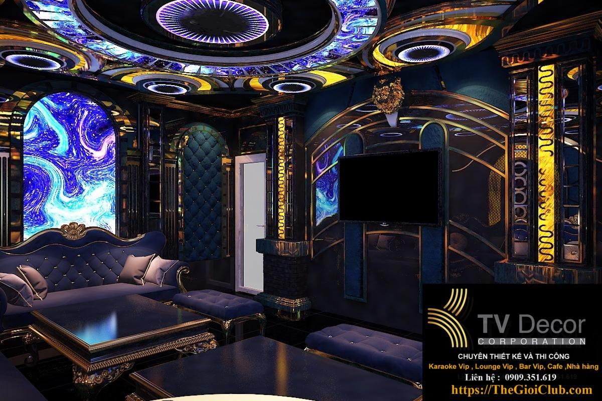 Mẫu thiết kế phòng karaoke KTV103 1