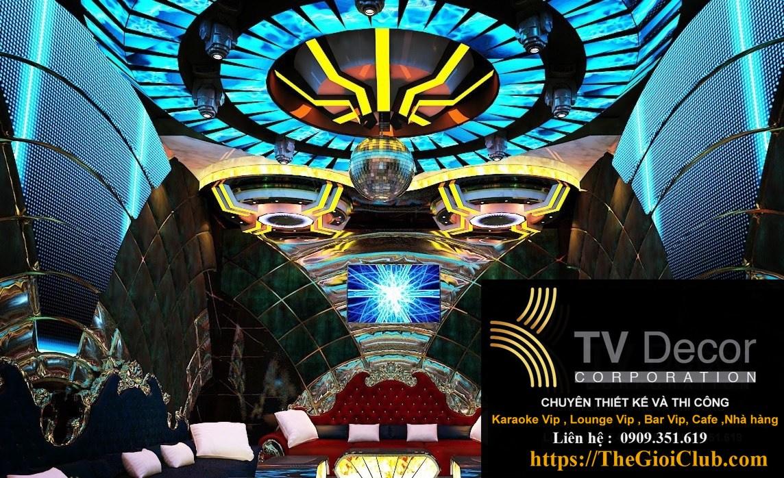 Mẫu thiết kế phòng karaoke KTV16 34