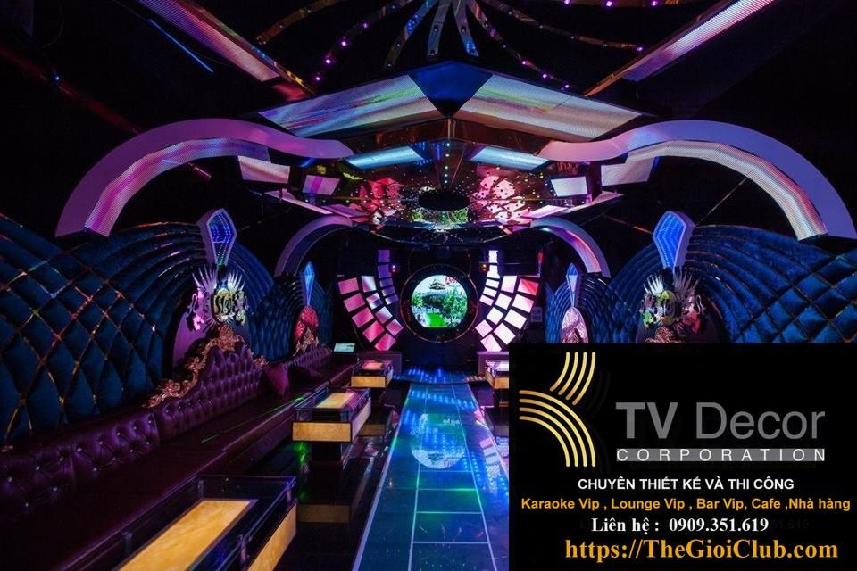 Mẫu thiết kế phòng karaoke KTV23 2