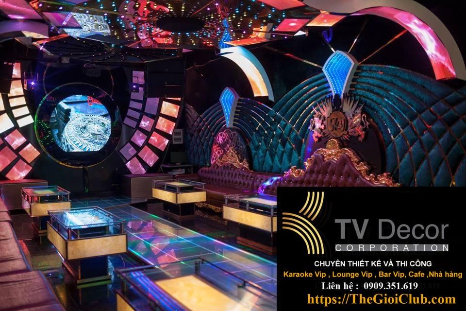 Mẫu thiết kế phòng karaoke KTV23 3