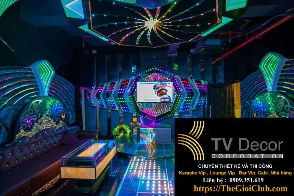 Mẫu thiết kế phòng karaoke KTV23 4