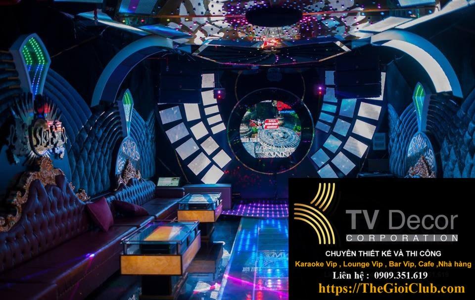 Mẫu thiết kế phòng karaoke KTV23 5