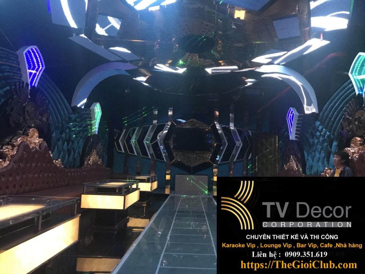 Mẫu thiết kế phòng karaoke KTV23 6
