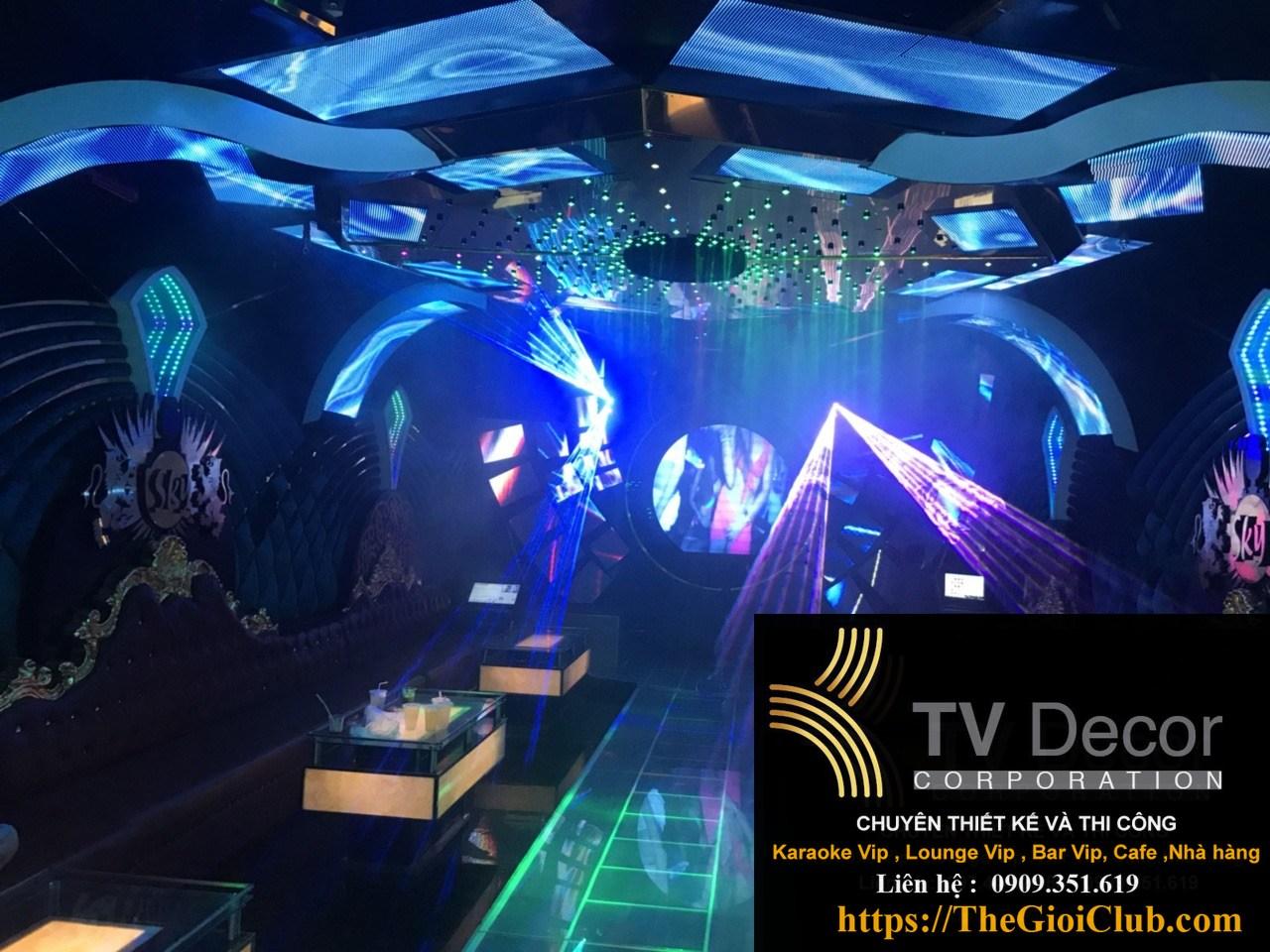 Mẫu thiết kế phòng karaoke KTV23 8