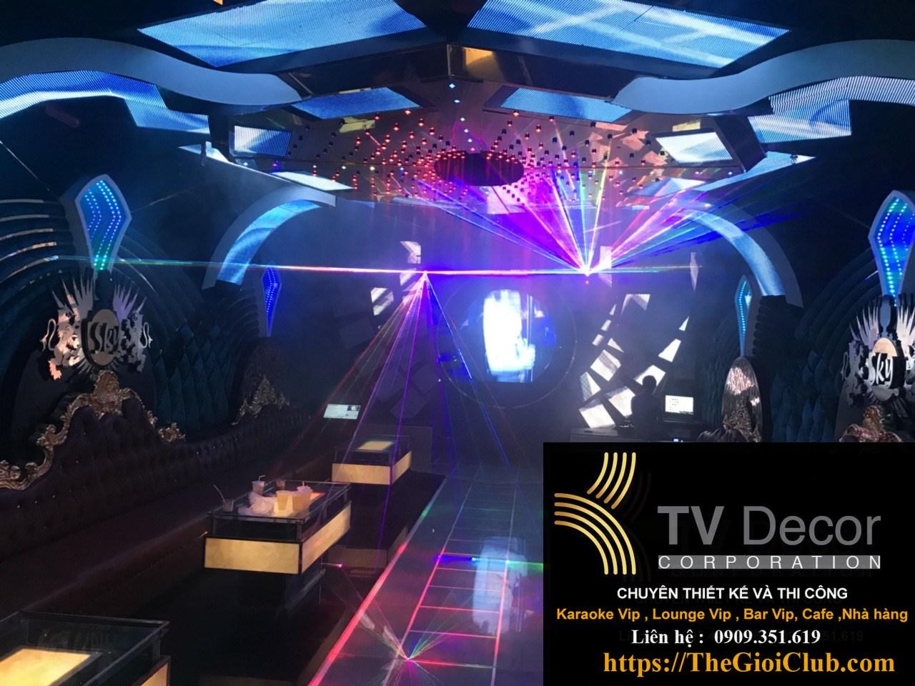 Mẫu thiết kế phòng karaoke KTV23 10