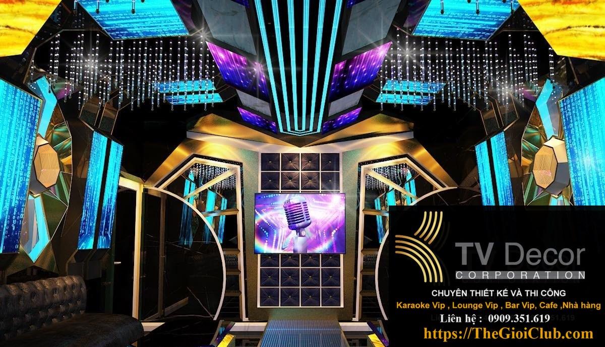 Mẫu thiết kế phòng karaoke KTV12 1