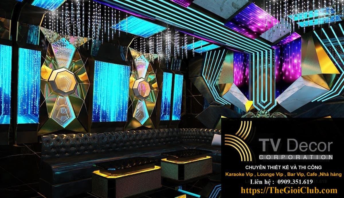 Mẫu thiết kế phòng karaoke KTV12 43