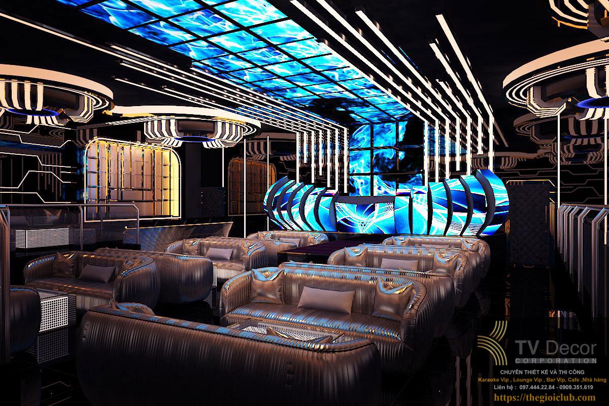 Thiết kế Lounge tại Bình Dương 7777